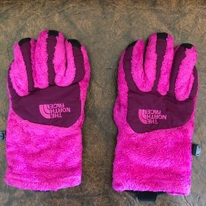 The North Face - girls gloves